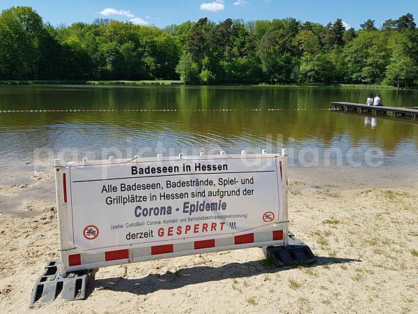 Der Hattsteinweiher bei Usingen in der Wetterau (01.06.2021)