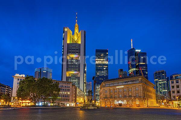 Der Roßmarkt in Frankfurt am Main (08.07.2021)