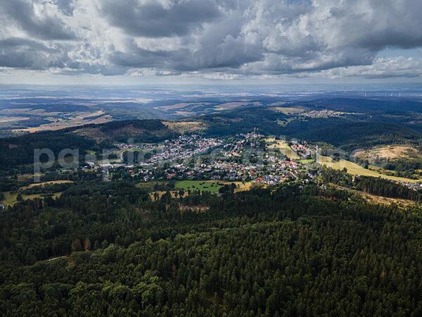Wolken über Oberreifenberg im Taunus (22.08.2021)