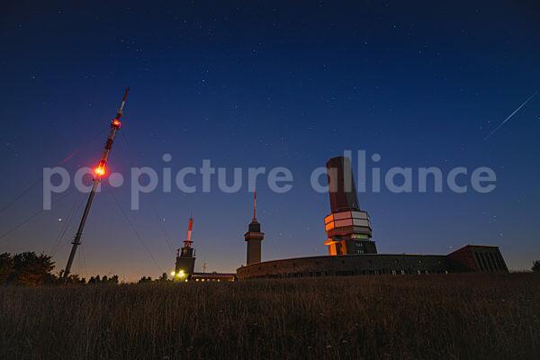 Sternenhimmel über dem Großen Feldberg im Taunus (03.09.2021)