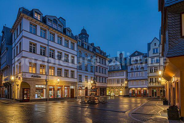 Der Huehnermarkt in der Frankfurter Neuen Altstadt (13.12.2020)