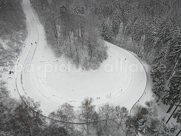 Die Grosse Kurve am Grossen Feldberg (04.01.2021)
